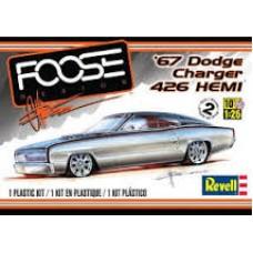 67 DODGE CHARGER 426 HEMI REVELL 1/25