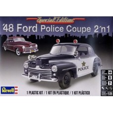 48 FORD POLICE COUPE 2N1 REVELL 1/25
