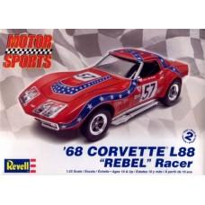 68 CORVETTE L88 REBEL RACER REVELL 1/25