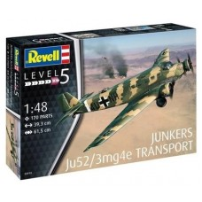 JUNKERS JU52/3MG4E TRANSPORT - 1/48 - REVELL