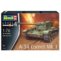A-34 COMET MK.1 - REVELL - 1/76