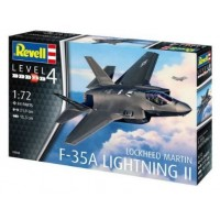 F-35A LIGHTNING II 1/72 - REVELL