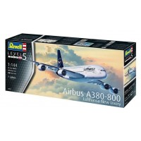 AIRBUS A380-800 LUFTHANSA NEW LIVERY 1/144 - REVELL