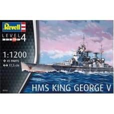 HMS KING GEORGE V - REVELL - 1/1200