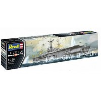GERMAN AIRCRAFT CARRIER GRAF ZEPPELIN 1/720 - REVELL