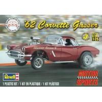 D e M 62 CORVETTE GASSER - REVELL - 1/25