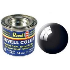 REVELL ESMALTE 107 BLACK GLOSS  14ml