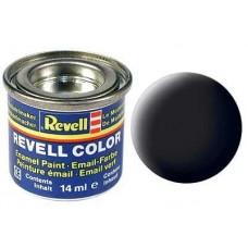 REVELL ESMALTE 108 BLACK MATE  14ml