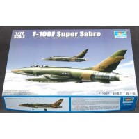 F-100F S.SABRE - 1/72 - TRUMPETER