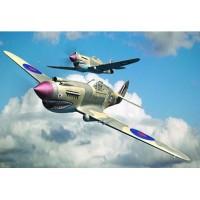 AIRCRAFT-CURTISS P-40B WARHAWK - 1/48 - TRUMPETER