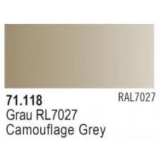 MODELAIR CAMOUFLAGE GREY 17ml RAL 7027