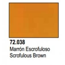 GAME COLOR SCROFULOUS BROWN 17ml VALLEJO