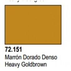 GAME COLOR HEAVY GOLDBROWN 17ml VALLEJO
