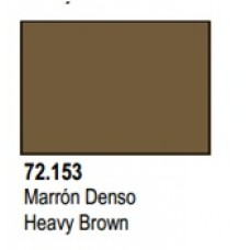 GAME COLOR HEAVY BROWN 17ml VALLEJO
