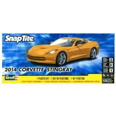 2014 CORVETTE STINGRAY REVELL (SNAP) 1/25